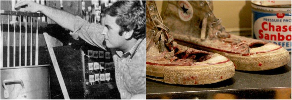 Mike Kittredge e le sue scarpe da lavoro
